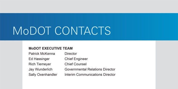 Feature Block Contacts Screen
