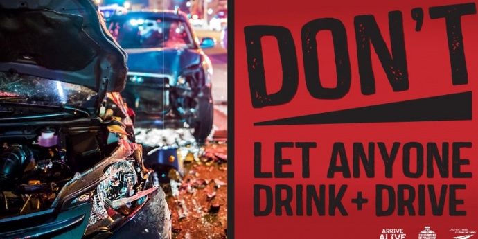 drive sober or get pulled over poster
