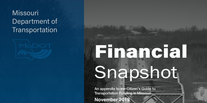 2019 Financial Snapshot cover 2