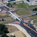 Diverging Diamond Interchange at Route 13 and I-44 in Springfield