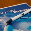 a unity through diversity handbook and pen