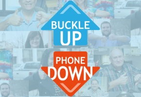 buckle up phone down