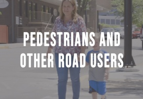 pedestrians and other road users