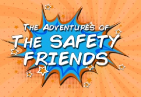 Safety Friends Comic Book Cover Thumbnail