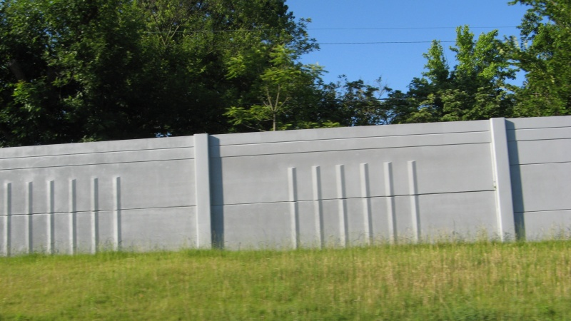 Sound Wall along I-64