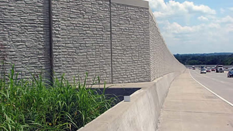 Sound Wall in St. Charles County