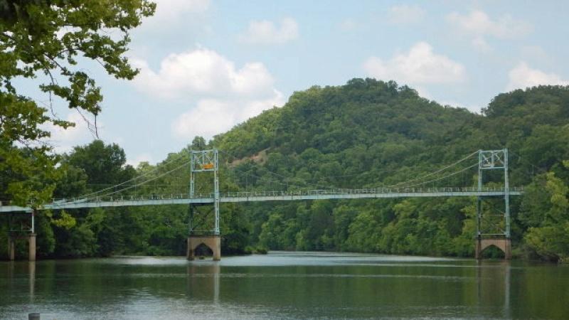 Historic Bridge Little Niangua River Bridge Missouri