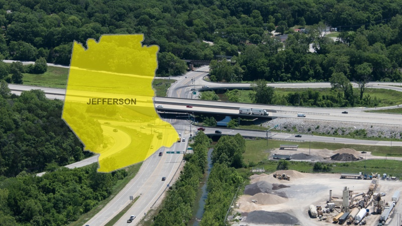 jefferson county construction missouri department of transportation
