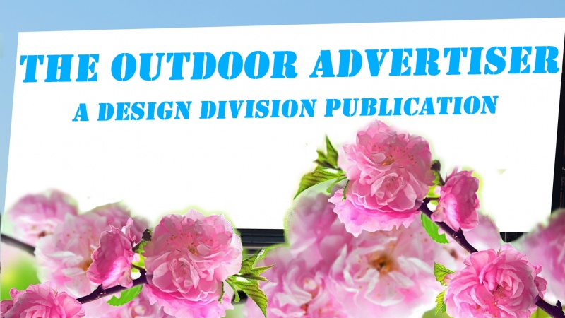 The Outdoor Advertiser - April 2010 Banner
