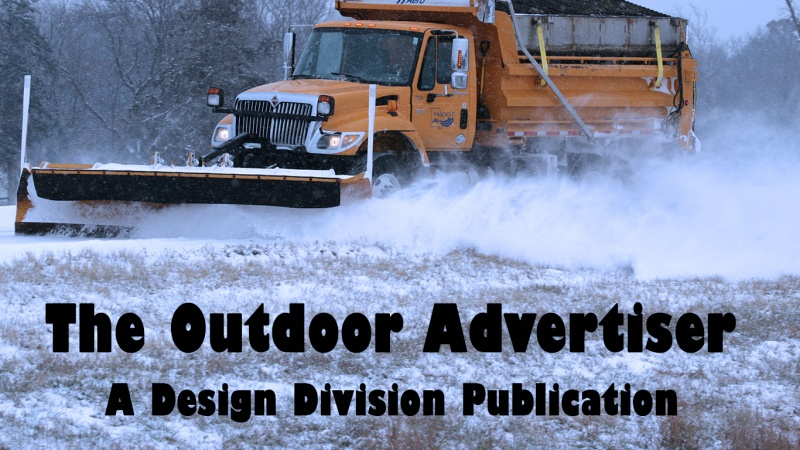 The Outdoor Advertiser - January 2010 Banner