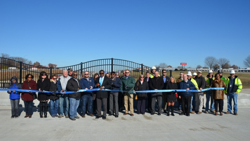 Grandview Bridge Ribbon Cutting