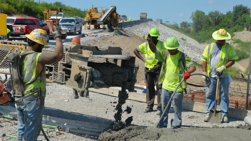 I-435 and Rt 210 Construction