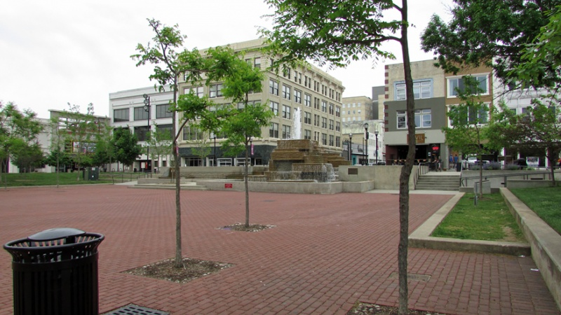 The historic Park Central Plaza in Springfield
