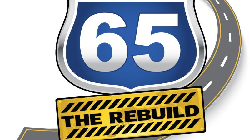 Route 65: THE REBUILD Logo
