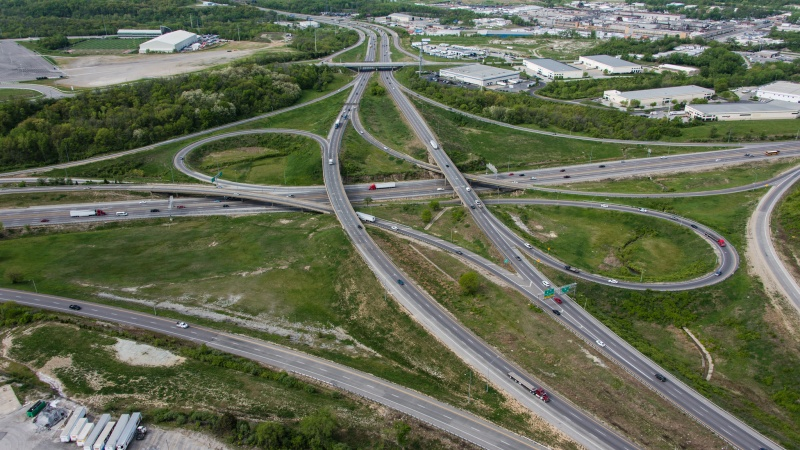 I-435 and I-70 Interchange   Missouri Department of Transportation on kansas road conditions map, missouri kansas city neighborhood map, kansas city subdivisions map, kansas city district map, bollinger county missouri county road map, kansas city road construction projects, kansas city area county map,
