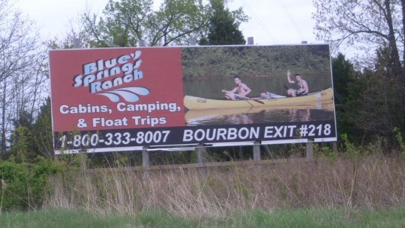 Blue Springs Ranch Billboard