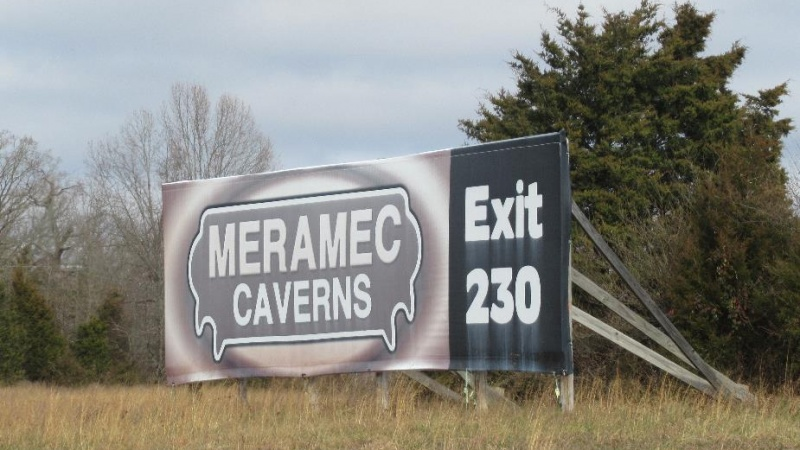 Meramec Caverns Billboard