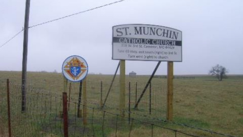 St. Munchin Catholic Church Sign