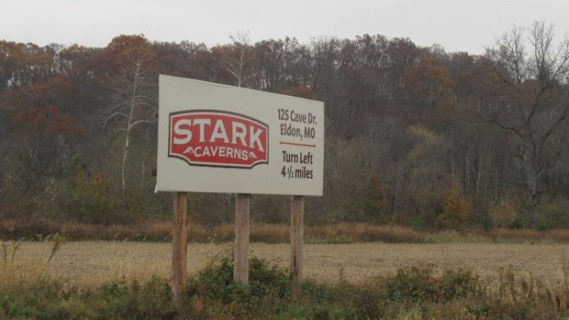 Stark Caverns Billboard