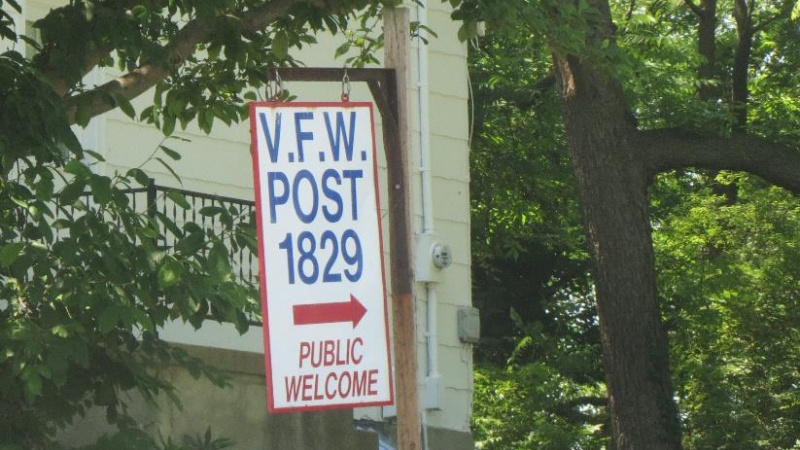 VFW Post 1829 Sign