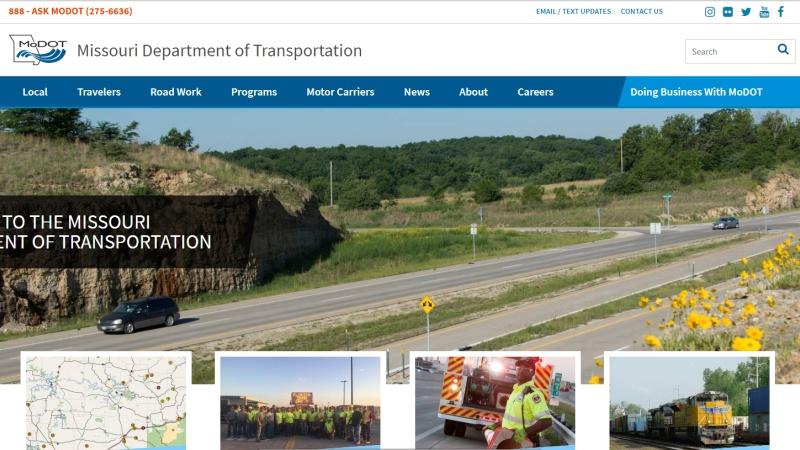 New MoDOT Website | Missouri Department of Transportation
