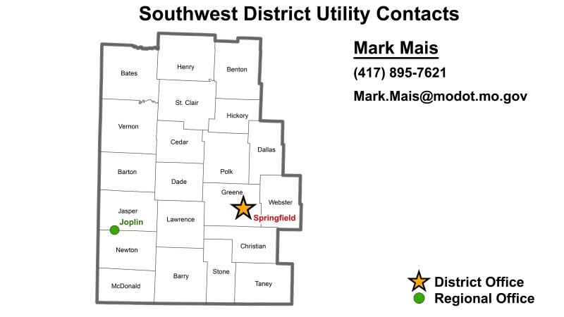 SW District Utility Contacts