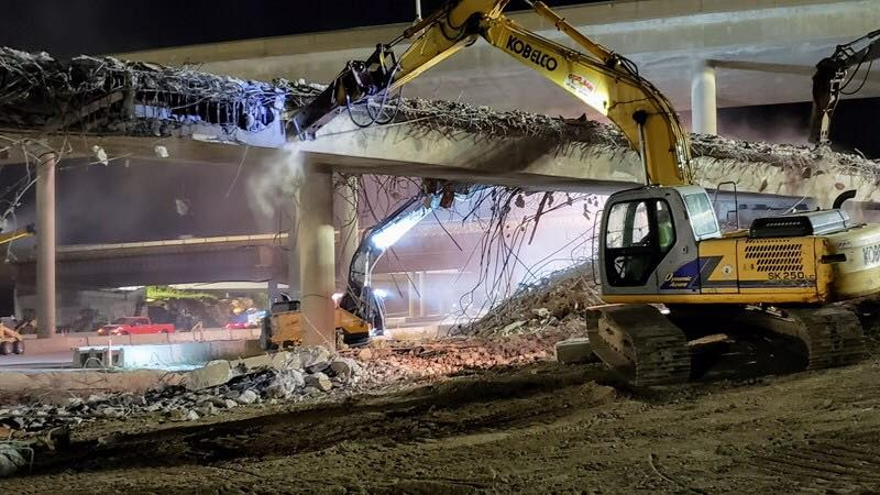 Ramp demolition
