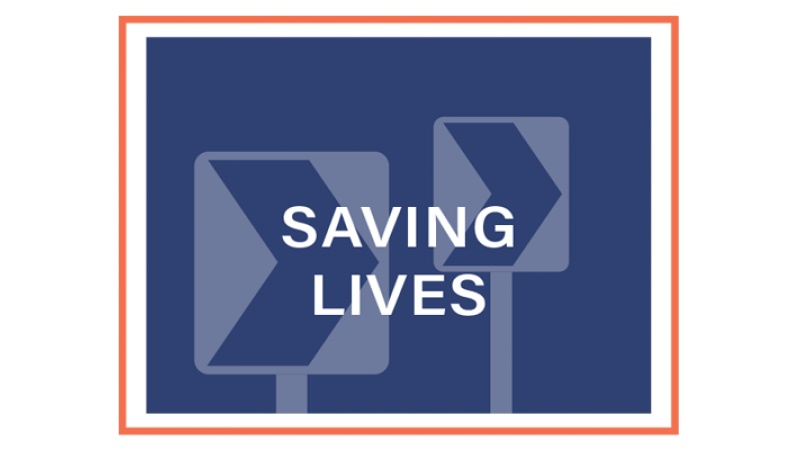 Saving Lives block graphic