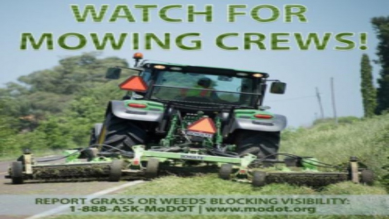 Watch Out for Mowing Crews!