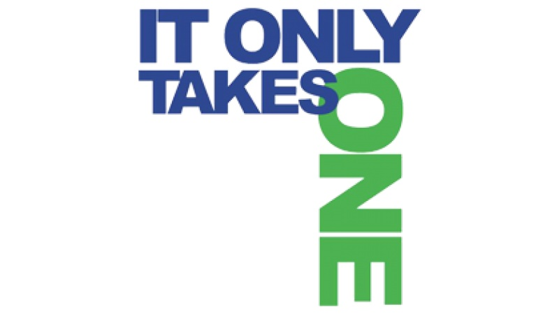 It Only Takes One Logo