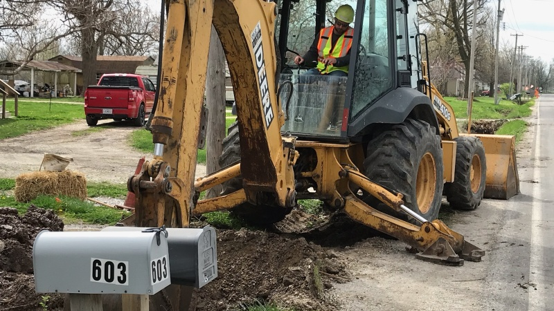 Randolph County Crews replacing culverts to improve drainage