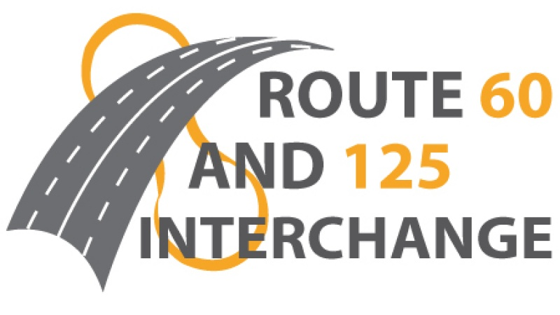 U.S. Route 60 at Route 125 Interchange Project Logo