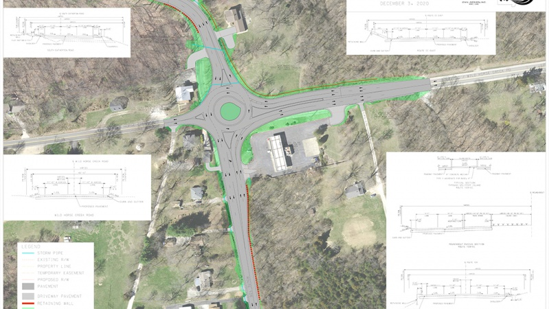 Proposal for Route 109 and Route CC intersection