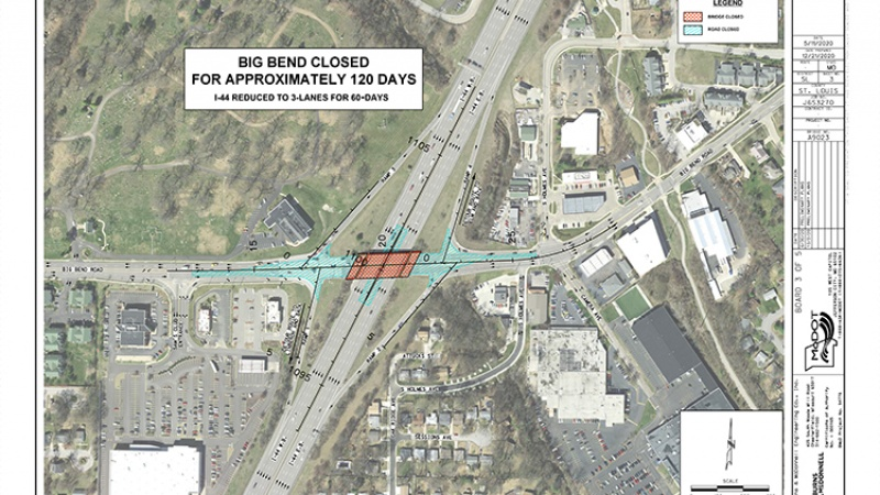 Big Bend bridge closure