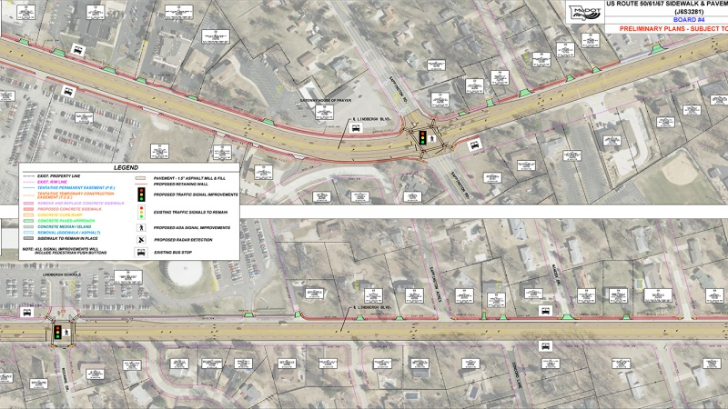 Lindbergh Resurfacing Project, Gravois to Mimosa