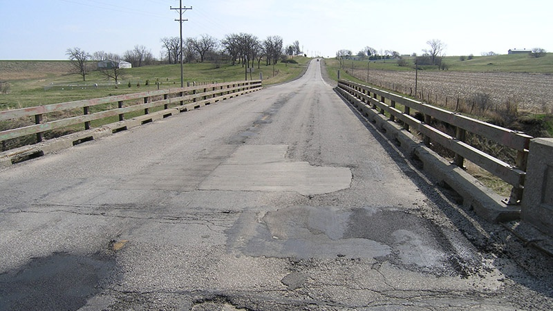 Nodaway County U.S. Route 136 Mozingo Creek Bridge Deck Surface