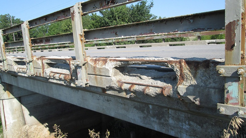 Nodaway County U.S. Route 136 Mozingo Creek Bridge Deck Profile